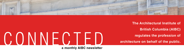 Connected - a monthly AIBC newsletter