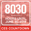 CES Countdown until June 30, 2018