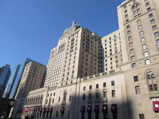 Image: The Royal York Hotel, now the Fairmont Royal York, in Toronto was designed by Sproatt and Rolph and by Ross and MacDonald, Architects, 1928-29. Courtesy of DCN, photo by William Mewes