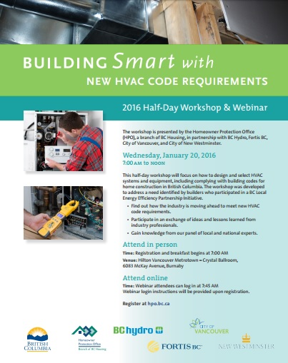 Building Smart with New HVAC Code Requirements