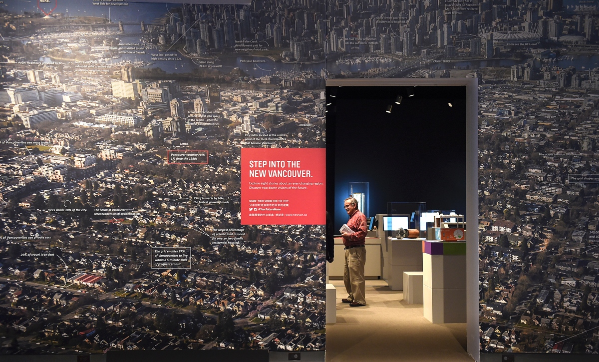 Image: Your Future Home: Creating the New Vancouver runs Jan 21 to May 15 at the Museum of Vancouver. Courtesy Vancouver Courier, photo by Dan Toulgoet