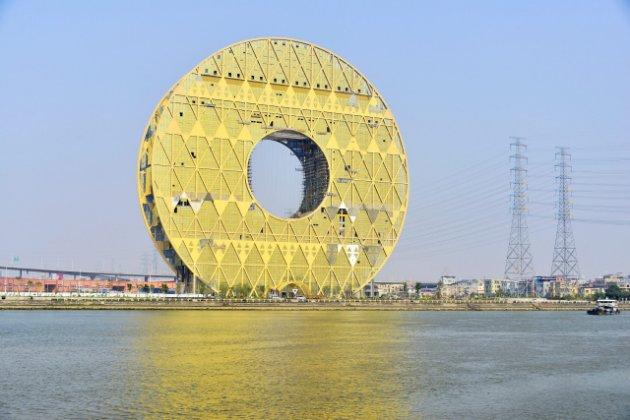 Image: The 33-storey Guangzhou Circle. Photo: Yahoo