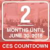 2 months left until the June 30, 2018 CES deadline