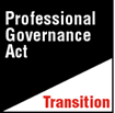 Professional Governance Act Transition